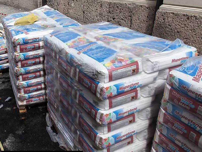 mapestone system tfb 60 letto di posa per pavimenti in pietra