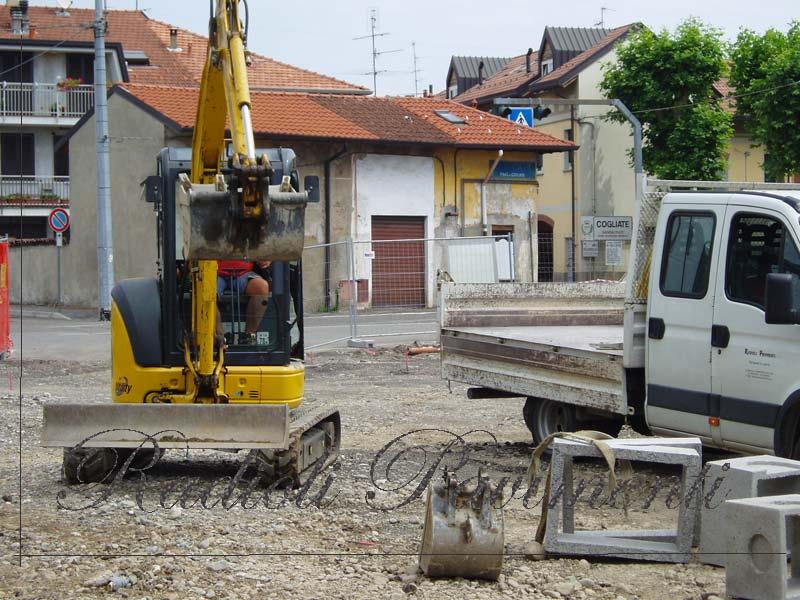 demolizione  scavi  sottofondi e impianti