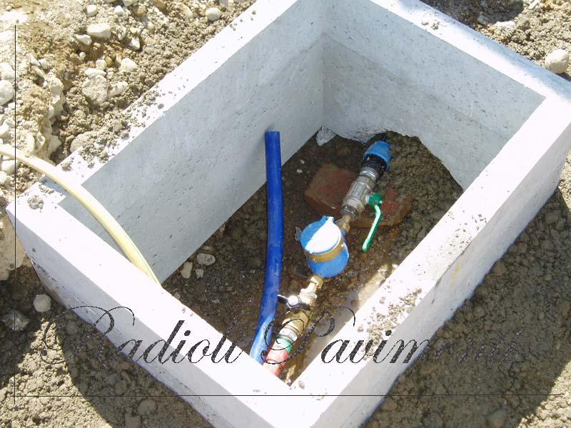 pozzetti e ispezioni contatori acqua