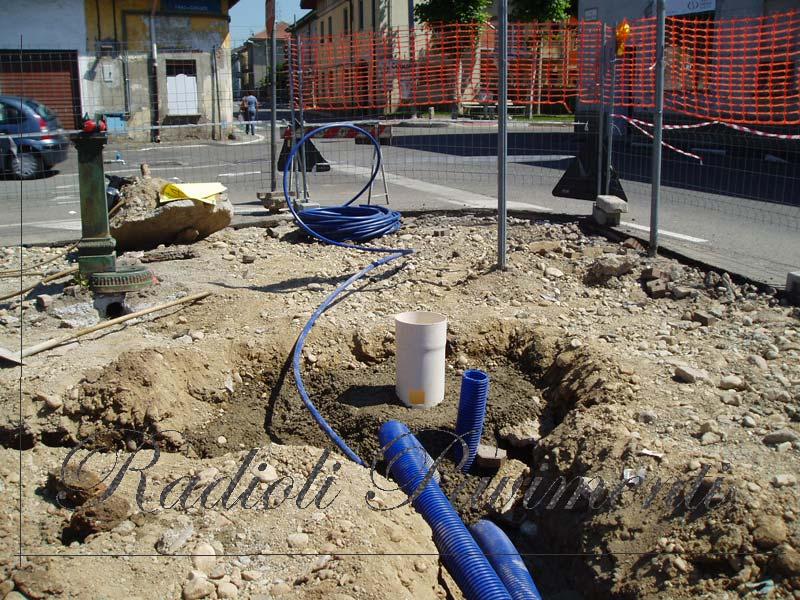 Demolizioni scavi sottofondi e impianti