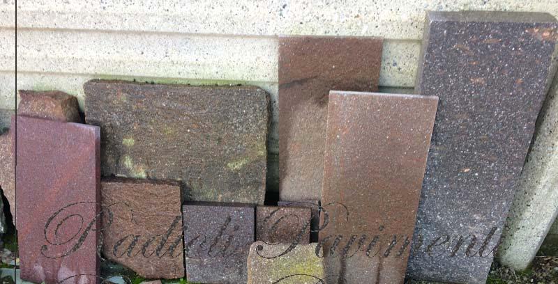 pietra per pavimentazione lastre di porfido - piastrelle