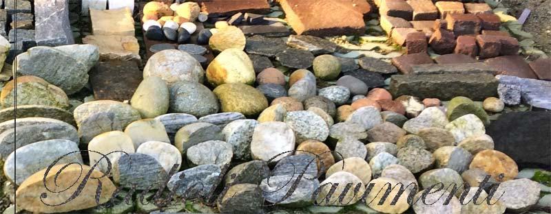 pietre per pavimenti esterni sassi  e ciottoli