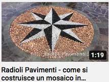 video - come si costruisce un mosaico in ciottoli