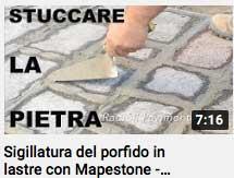 video stuccare la pietra